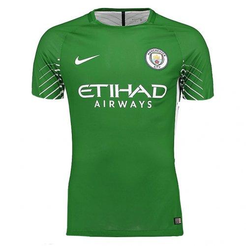 pretty nice 25a55 99153 US$ 15.8 - Manchester City Goalkeeper Jersey Green Men 2017 ...
