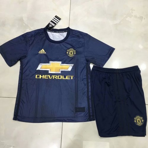 premium selection 9c9b1 d273c Manchester United Third Jersey Kids' 2018/19