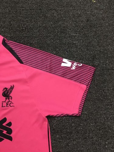 reputable site 34a18 8497e US$ 15.8 - Liverpool Goalkeeper Pink Jersey Short Sleeve ...