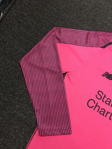 wholesale dealer 152b3 077e2 US$ 16.8 - Liverpool Goalkeeper Pink Jersey Long Sleeve ...