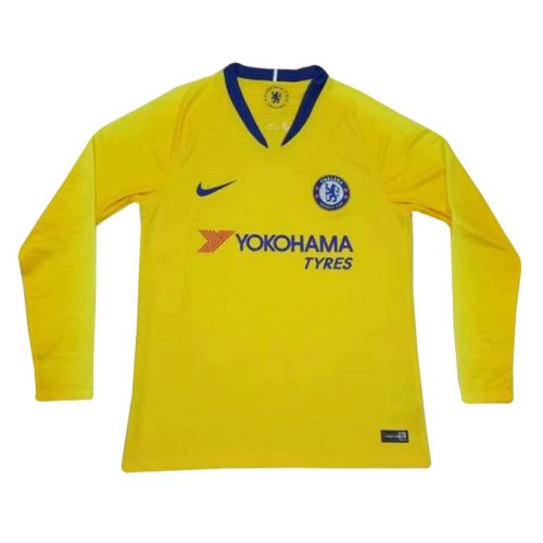 buy online 93742 1b924 US$ 16.8 - Chelsea Away Jersey Long Sleeve Men's 2018/19 - m ...