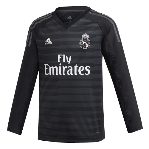 competitive price 47c7e c3ec3 US$ 16.8 - Real Madrid Goalkeeper Black Jersey Long Sleeve ...