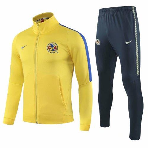66cf893edc0 US$ 37.8 - Club America Jacket + Pants Training Suit Yellow 2018/19 ...