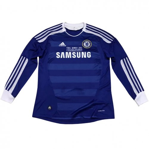 the best attitude bf081 6333a US$ 18.8 - Chelsea Retro Home Jersey Long Sleeve Mens 2011 ...