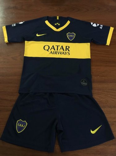 new arrival cf2aa cc72b Boca Juniors Home Jersey Kids 2019/20