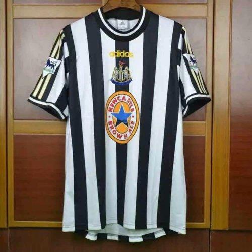 buy popular b579c cbce1 Newcastle United Retro Home Jersey Mens 1997-1999