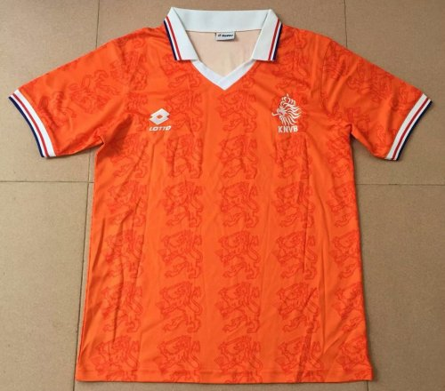 los angeles bbe9b fae5a Netherlands Home Retro Jersey Mens 1995