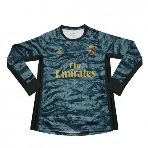 new product 4055a 12da6 US$ 16.8 - Real Madrid Goalkeeper Grey Jersey Long Sleeve ...