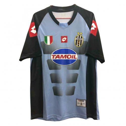 wholesale dealer 0a66f 80e23 Juventus Retro Goalkeeper Grey Jersey Mens 2002-2003