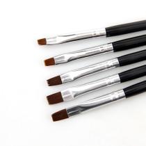 5 Sizes/Set Flat Painting Drawing Pen