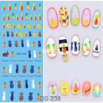 DS223-241 Manicure Watermark Large Sheet Sticker