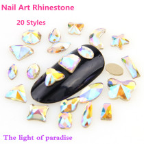 High Quality K9 Rhinestone The Light Of Paradise Top Plating Bottom