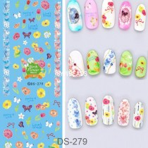 DS272-285  Manicure Watermark Large  Plant Series Decal Sticker