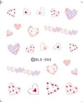 DLS-093-104  Heart Halloween Series Transfer Sticker