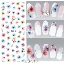 DS301-320  Manicure Watermark Large Sheet Sticker Accessories Decal Sticker