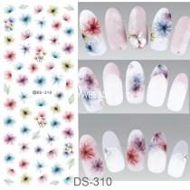 DS301-320  Manicure Watermark Large Sheet Sticker Accessories Decal Sticker