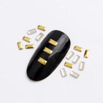 2x4mm/3x5mm/2x5mm  Rectangle Hot Fix Nail Art Rivet