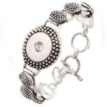 New 1 Piece Interchangable Fit 18mm Snap Buttons OT Clasp Spots Vintage Snaps Button Bracelets&Bangles DIY Jewelry Charm Bracelets