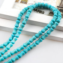 練りターコイズ Howlite Bone Loose Spacer Seed Stones Beads