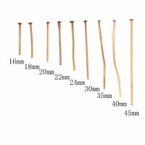 8g/500g   16mm~45mm  Antique Bronze Flat Head Pins