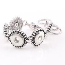 New 1 Piece Interchangable Fit 12mm 5 Snap Buttons OT Clasp Vintage Snaps Button Bracelets&Bangles DIY Jewelry Charm Bracelets