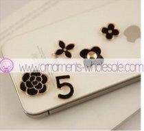 五の字 花 組合せ デコ用 ハイドメイド iPhone4 5    10pieces