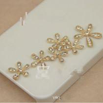 綺麗な花 デコ用 Handmade DIY合金 10セット