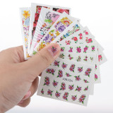 50 Sheets Water Transfer Nail Sticker