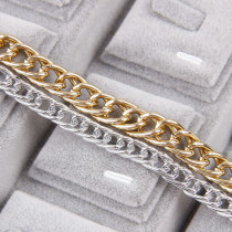 1 Meter Aluminum Aluminum Metal Silver&Gold Necklace Chains