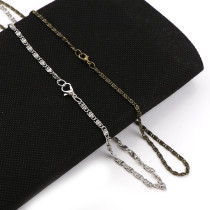 1Pcs Iron Metal Curb Necklace Bulk Chains