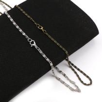 1Pcs Iron Metal Curb Necklace Bulk Chains