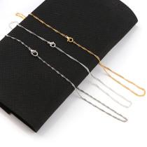 1 Pcs Copper Metal Curb Necklace Bulk Chains