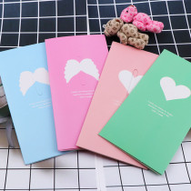 Cute Love Heart&Butterfly Kraft Paper Greeting Postcards
