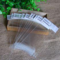 200pcs  5.5x13cm上2.5cm下3cm Poly Bags OPP Bag