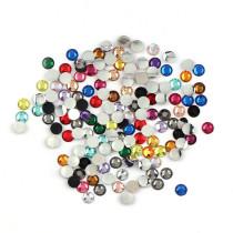 5mm ,30000Pieces/Lot,樹脂ストーン高分子結晶ストーン