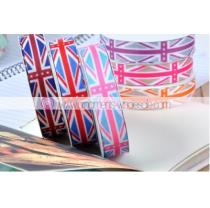 グログランリボン 38㎜ 1-1/2   イギリス国旗