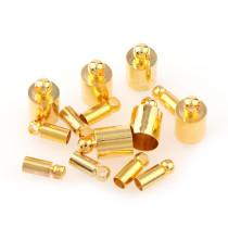 10000pcs/50pcs  4.5*9mm シルバー タッセルキャップ
