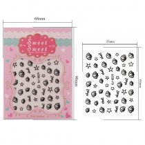 Shell Starfish Design 4 Colors  Stereoscopic Nail Sticker