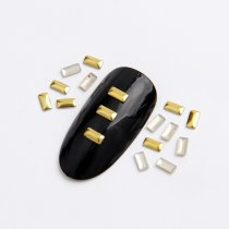 2x4mm/3x5mm/2x5mm  Rectangle Hot Fix Nail Art Rivet