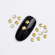 3mm/4mm  Plum Flower Hot Fix Nail Art Rivet Punk Rock Style