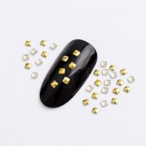 3mm/4mm/5mm  Square Hot Fix Nail Art Rivet Punk Rock Style