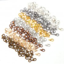 50Pieces  10x5mm  Lobster Clasps Hook Component