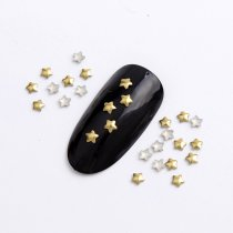3mm/4mm/5mm  Five-pointed Star Hot Fix Nail Art Rivet Punk