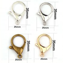 25x35mm  Lobster Clasps Hook Key Chain