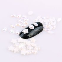 About200pcs  4x6mm/6mm Imitation Pearl Nail Art Decoration