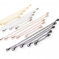 Stainless steel chain 3 pcs
