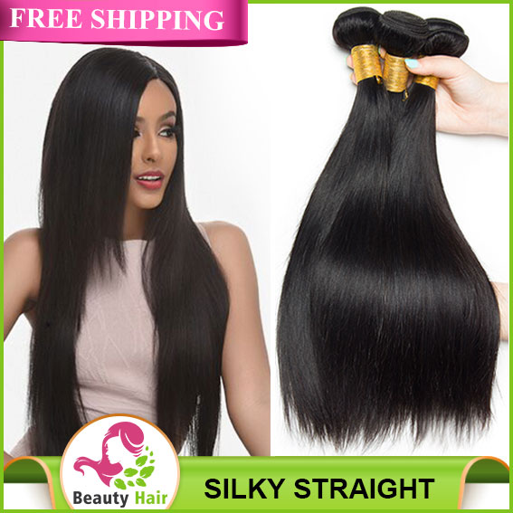 Brazilian Straight Human Hair 100 Remy Hair Weave Bundles Natural