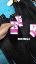 Print logo /name Hair tags 500 pics