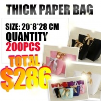 Thick paper bags