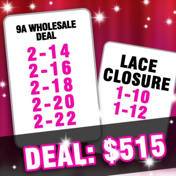 9A hair wholesale deal